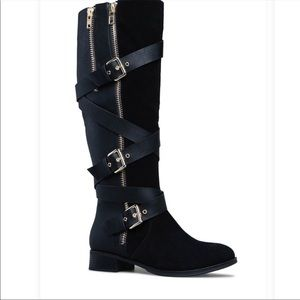 ShoeDazzle Wide Calf Boot Size 8 NWB